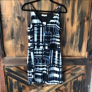 Vici abstract dress Sz small